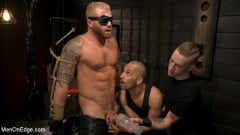 Riley Mitchell - Roped In: Muscle Dom Riley Mitchell Bound and Edged | Picture (6)