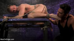 Sean Holmes - Newcomer Straight Stud Sean Holmes Submits to Dominic Pacifico | Picture (2)