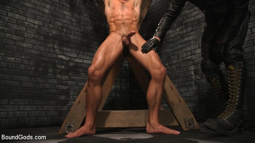 Sebastian Keys - A Hard Place: Casey Everett Tormented And Fucked In Full Suspension | Picture (8)