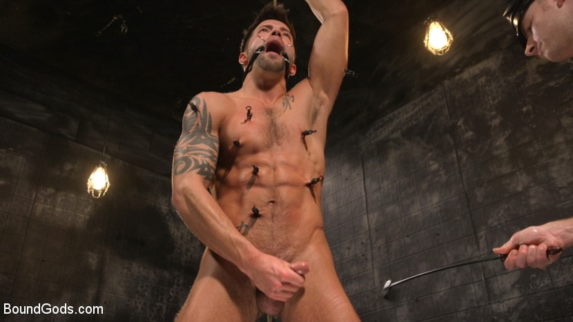 Sebastian Keys - A Hard Place: Casey Everett Tormented And Fucked In Full Suspension | Picture (22)
