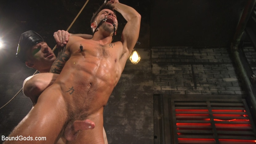 Sebastian Keys - A Hard Place: Casey Everett Tormented And Fucked In Full Suspension | Picture (27)