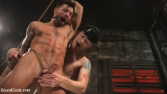 Sebastian Keys - A Hard Place: Casey Everett Tormented And Fucked In Full Suspension | Picture (28)
