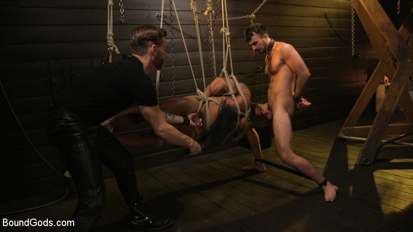 Sebastian Keys - Dungeon Muscle Challenge: Two Pain Sluts Pushed To Their Limits | Picture (7)