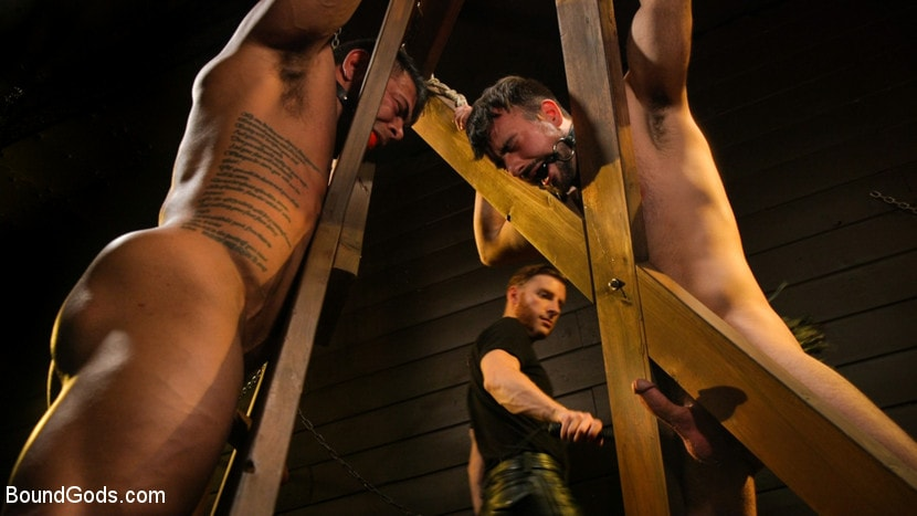 Sebastian Keys - Dungeon Muscle Challenge: Two Pain Sluts Pushed To Their Limits | Picture (12)