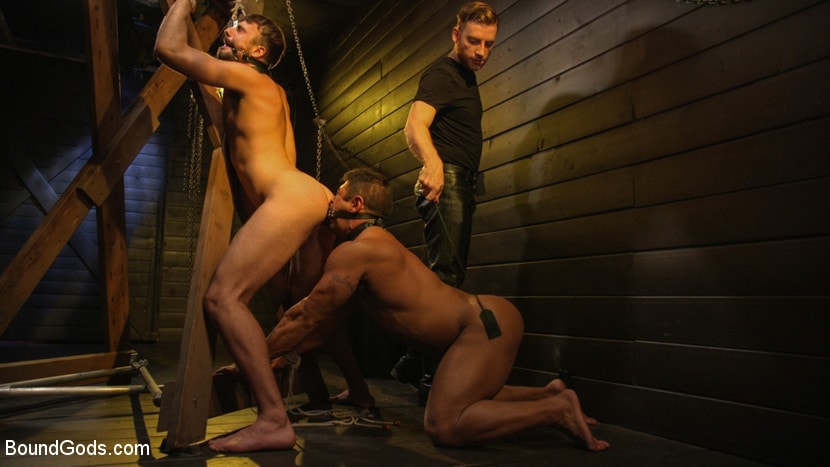 Sebastian Keys - Dungeon Muscle Challenge: Two Pain Sluts Pushed To Their Limits | Picture (13)