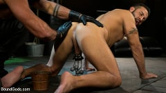 Sharok - Franco Gets FUCKED: New Slave Flogged and Fucked by Sharok | Picture (7)