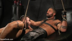 Sharok - Franco Gets FUCKED: New Slave Flogged and Fucked by Sharok | Picture (12)