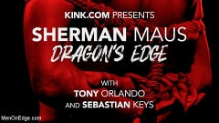 Sherman Maus - DRAGON'S EDGE: Newcomer Sherman Maus Gets Balls and Asshole Stretched | Picture (1)