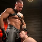 Tobias in 'The Torment of Tobias: Muscle hunk submits to Michael Roman'