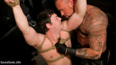 Tobias - The Torment of Tobias: Muscle hunk submits to Michael Roman | Picture (16)