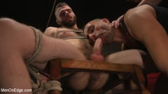 William Crown - William Crown Gets His Big Hard Dick Choked And Edged | Picture (3)