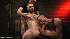William Crown - William Crown Gets His Big Hard Dick Choked And Edged | Picture (5)