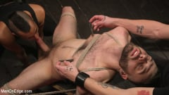 William Crown - William Crown Gets His Big Hard Dick Choked And Edged | Picture (6)
