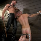 Zak Bishop in 'Daddy's Boy: Leather Daddy Colby Jansen dominates Zak Bishop'