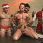 Rex Cameron in 'Muscled submissive whored out by santa for the holidays'